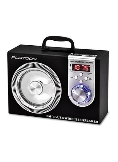 Platoon PL-4337 Bluetooth Speaker Fm/Sd/Usb Siyah
